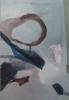 2014 | Acryl, Pastellkreide auf Leinwand | 160 x 110 cm