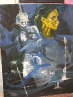 Acryl auf Leinwand | 100 x 80 cm