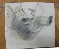 Eitempera auf Pappe | ca A4