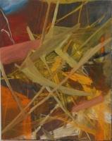 Acryl, Öl, Pastellkreide | 100 x 80 cm