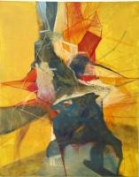 Acryl, Pastellkreide auf Leiwand | 150 x 120 cm