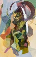 2015 | Acryl und Pastellkreide auf Leinwand | 175 x 110 cm